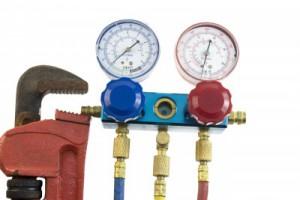HVAC Pressure Gauge - Jacksonville Air Conditioning Repair